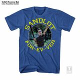 The Sandlot Forever Bat Royal Heather Adult T-Shirt