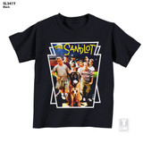 The Sandlot Movie Poster Black Youth T-Shirt