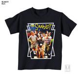 The Sandlot Movie Poster Black Youth T-Shirt