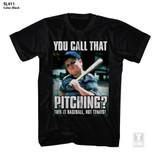 The Sandlot Call That Pitching? Black Adult T-Shirt