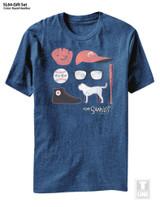The Sandlot Gift Set Royal Heather Adult T-Shirt