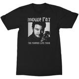 Parks and Recreation Mouse Rat Tour Shirt Black Adult T-Shirt
