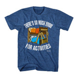 Step Brothers So Much Room Royal Heather Adult T-Shirt