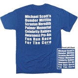 The Office Fun Run Royal Adult T-Shirt