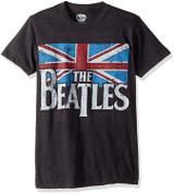 Beatles Distressed British Flag Classic T-Shirt