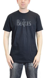 Beatles Lonely Hearts Black Classic T-Shirt