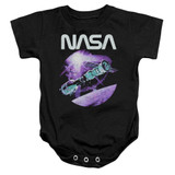 NASA Come Together Baby Onesie T-Shirt Black