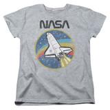 NASA Shuttle Women's T-Shirt Athletic Heather