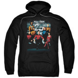 Star Trek 25th Anniversary Crew Adult Pullover Hoodie Sweatshirt Black