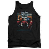 Star Trek 25th Anniversary Crew Adult Tank Top T-Shirt Black