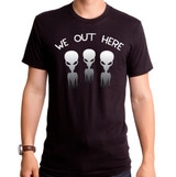 We Out Here Adult T-Shirt