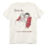 Love Is Binge Watching Dark Junior Women's Crew T-Shirt