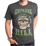 Cypress Hill Smoking Skull Adult T-Shirt