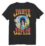 Janis Joplin Gypsy Junior Women's Crew T-Shirt