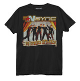 NSYNC No Strings Attached Junior Women's Crew T-Shirt