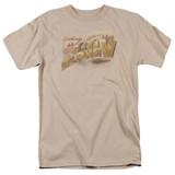 Star Trek Ceti Alpha V Adult T-Shirt Sand