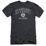 Star Trek Alumni Adult 30/1 T-Shirt Charcoal
