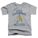 Star Trek Collegiate Arch Toddler T-Shirt Athletic Heather