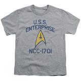 Star Trek Collegiate Arch Youth T-Shirt Athletic Heather