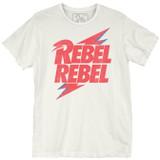 David Bowie Rebel Bolt Premium Vintage Adult T-Shirt