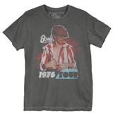 David Bowie Red Bowie 1976 Premium Vintage Adult T-Shirt