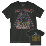 Def Leppard On Thru The Night Tour 80 Premium Vintage Adult T-Shirt