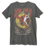 Janis Joplin Nouveau Boston Music Hall Premium Vintage Adult T-Shirt