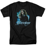 Harry Potter Hermione Ready Adult 18/1 T-Shirt Black