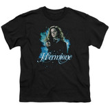 Harry Potter Hermione Ready Youth T-Shirt Black