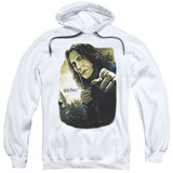 Harry Potter Snape Poster Adult Pullover Hoodie Sweatshirt White