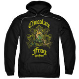 Harry Potter Chocolate Frog Adult Pullover Hoodie Sweatshirt Black