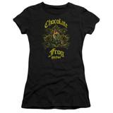 Harry Potter Chocolate Frog Junior Women's T-Shirt Black