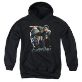 Harry Potter Final Fight Youth Pullover Hoodie Sweatshirt Black
