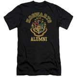 Harry Potter Hogwarts Alumni Premium Adult 30/1 T-Shirt Black