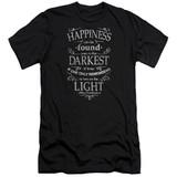 Harry Potter Happiness Adult 30/1 T-Shirt Black