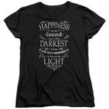 Harry Potter Happiness Women's T-Shirt Black