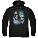 Harry Potter Always Adult Pullover Hoodie Sweatshirt Black