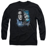 Harry Potter Always Adult Long Sleeve T-Shirt Black