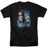 Harry Potter Always Adult 18/1 T-Shirt Black