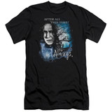 Harry Potter Always Adult 30/1 T-Shirt Black
