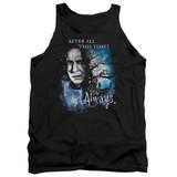 Harry Potter Always Adult Tank Top T-Shirt Black