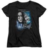 Harry Potter Always Women's T-Shirt Black