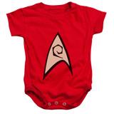 Star Trek Engineering Uniform Baby Onesie T-Shirt Red