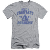 Star Trek Old School Adult 30/1 T-Shirt Athletic Heather