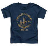 Star Trek Collegiate Bridge Toddler T-Shirt Navy