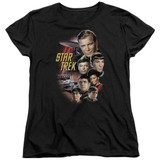 Star Trek Original The Classic Crew Women's T-Shirt Black