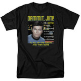 Star Trek All Of The Above Adult 18/1 T-Shirt Black