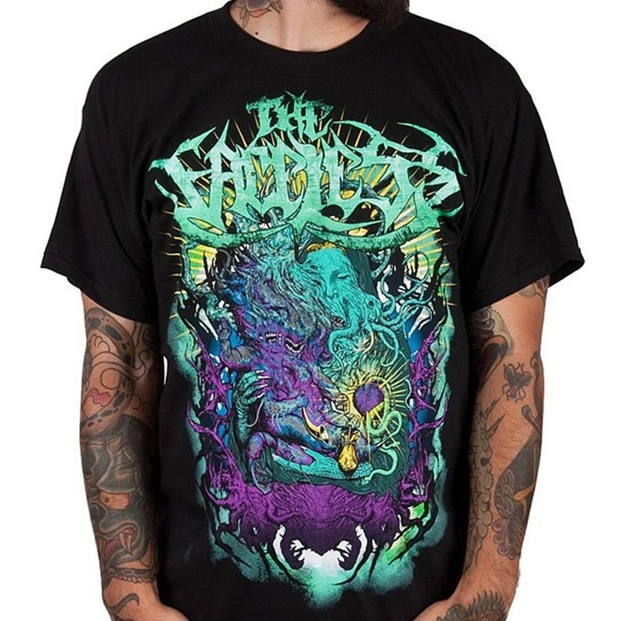 Faceless Prophet Of Contamination T Shirt [ 2048 x 2048 Pixel ]