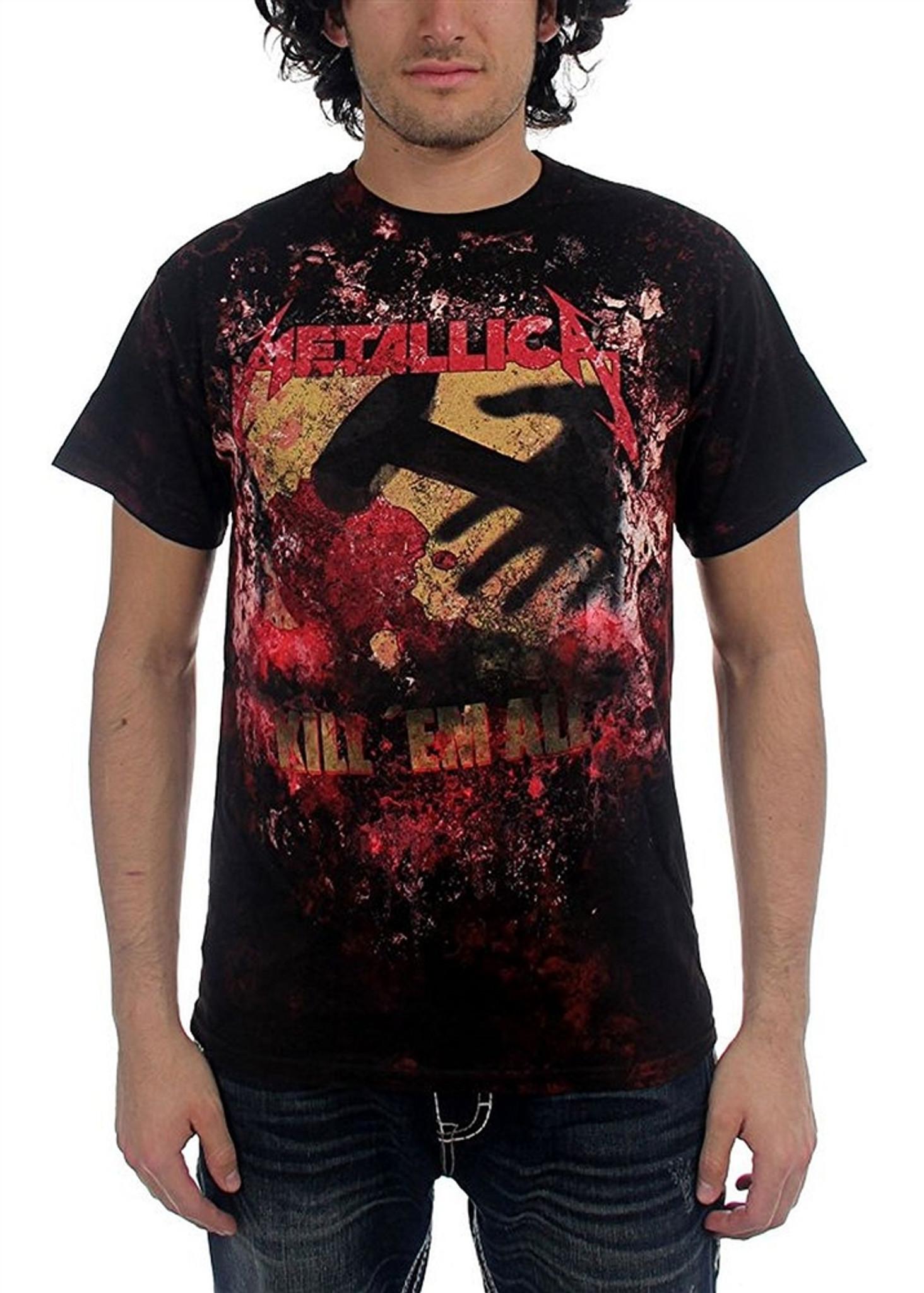 IconSymbol Funny KillEm All Studio Album Metallica Baby Onesie Kids Bodysuits