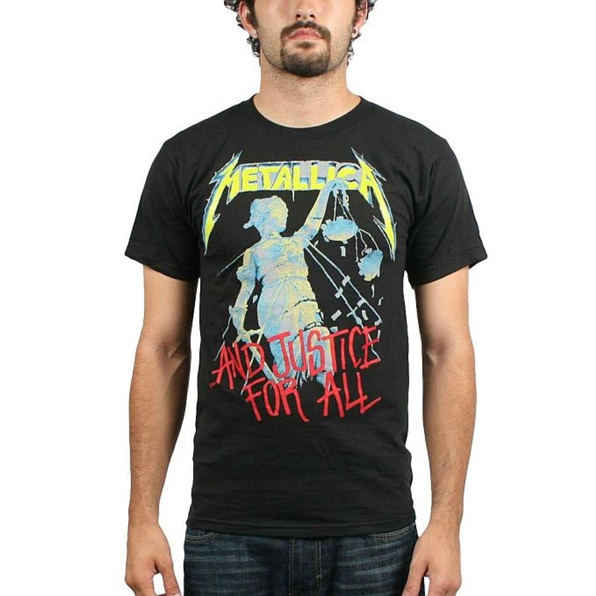 Metallica ..AND JUSTICE FOR ALL T-Shirt NEW 100/% Authentic /& Official